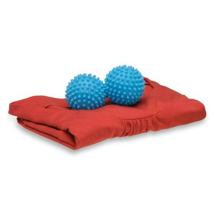 Honey Can Do Reusable Dryer Balls, Blue (Pack of 2) - Wooly Balls