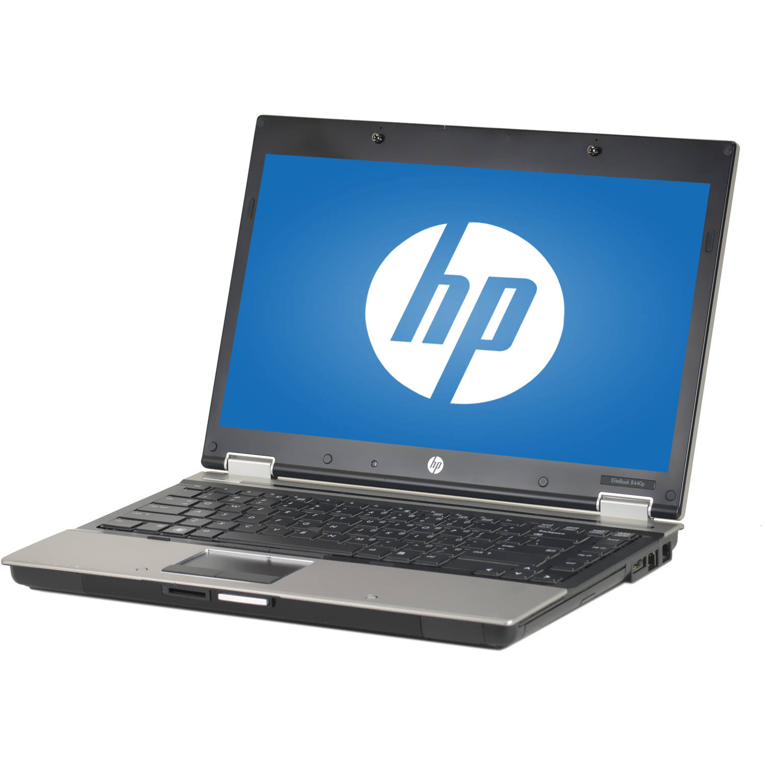 "Refurbished HP Silver 14.1"" EliteBook 8440P Laptop PC with Intel Core i5-520M Processor, 4GB Memory, 320GB Hard Drive and Windows 10 Pro"