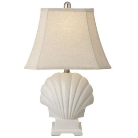 21 5 Nautical Cape Cod Clam Shell Shaped Table Lamp With