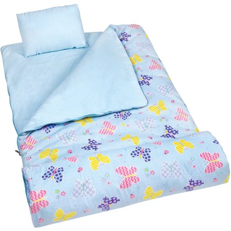 Olive Kids' Butterfly Garden Sleeping Bag
