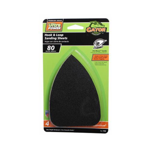 ALI INDUSTRIES 4-Pack 80-Grit Mouse Sander Sheets
