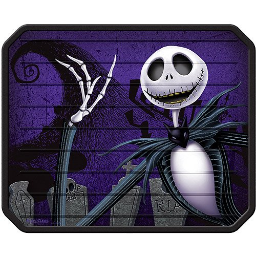 nightmare before christmas plasticlear utility mat walmartcom