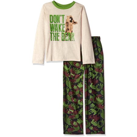 Komar Kids Boys' Don't Wake the Bear 2pc Sleepwear - Boys Sleepware