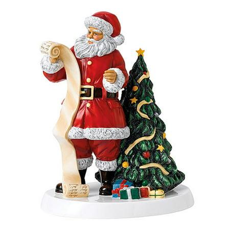 Royal Doulton 2018 Christmas Santa's Christmas List Figurine