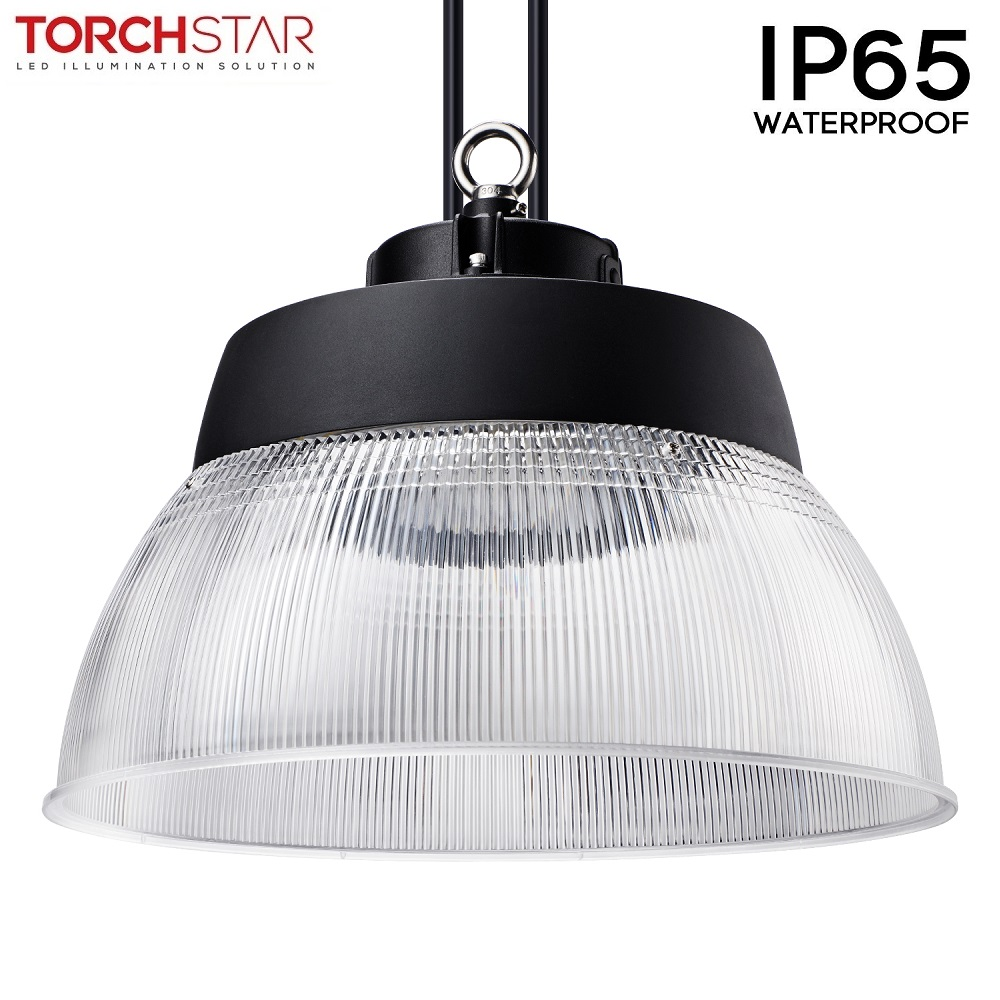 1x 150W LED High Bay Light Extra Thin Warehouse Fixtures Industry Office Lamp