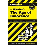 CliffsNotes on Wharton's The Age of Innocence - eBook