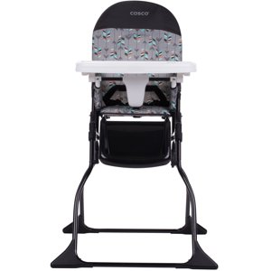 Cosco Simple Fold Full Size High Chair with Adjustable Tray, Etched Arrows