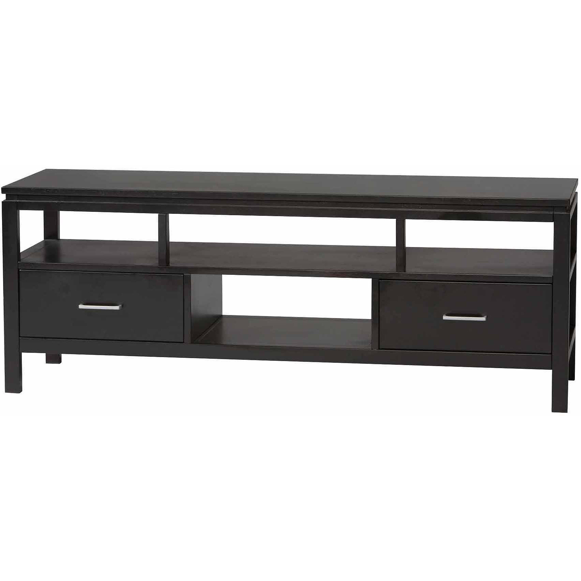Linon Sutton Black Plasma Tv Center For Tvs Up To 54 Inches