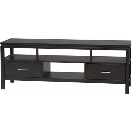 Linon Sutton Black Plasma TV Center for TVs up to 54