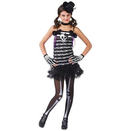 Girls Skeleton Costume