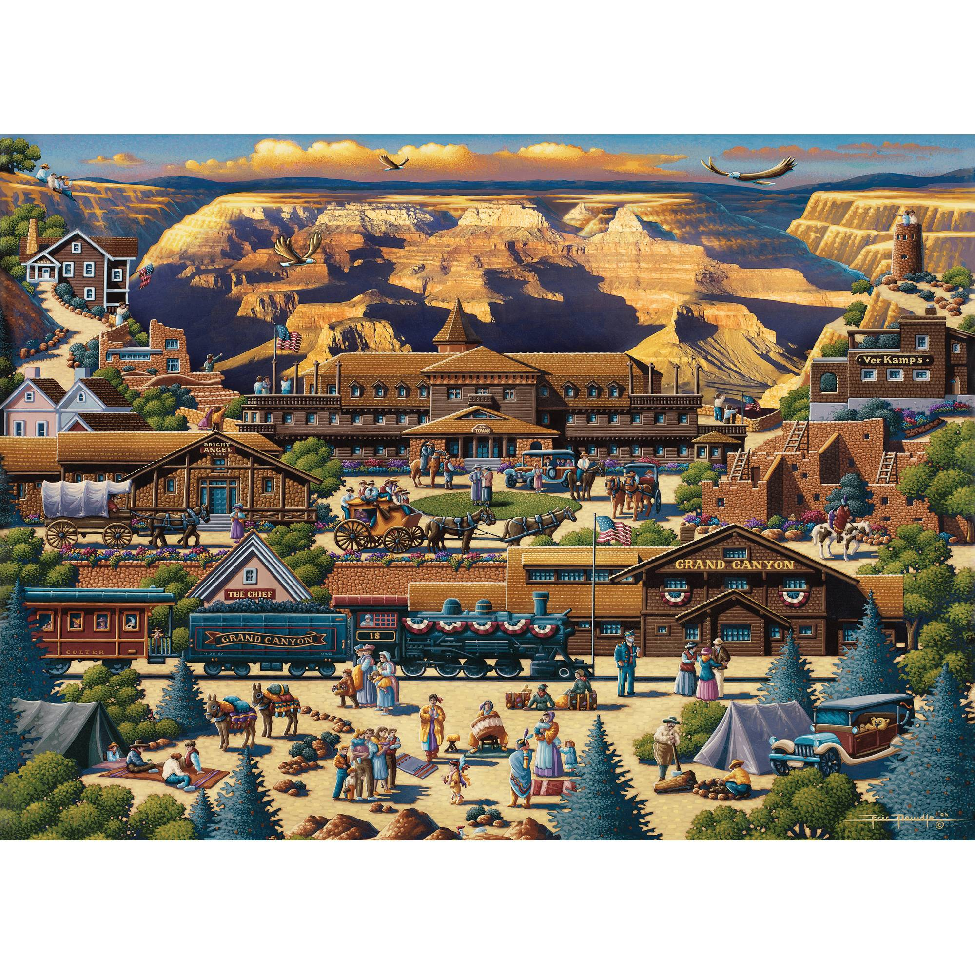 MasterPieces Grand Canyon 1000 Piece Puzzle by MasterPieces