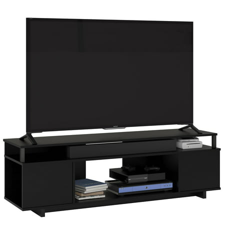 "Ameriwood Home Carson TV Stand for TVs up to 65"", Black Oak"