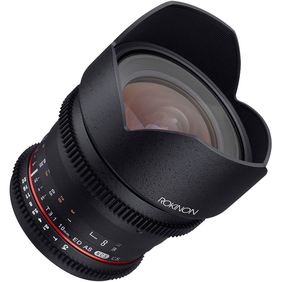 Rokinon Cine DS 10mm T3.1 Cine Lens for Canon EF-S