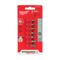 Milwaukee 48-32-4615 7-Piece Shockwave Torx Insert Bit (Torx Insert Bit)