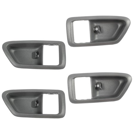 CF Advance For 97-01 Toyota Camry Front or Rear Left or Right SET 4PCS Interior Inside Door Handle Case Gray 1997 1998 1999 2000 2001 (1999 F350 Interior For Doors)