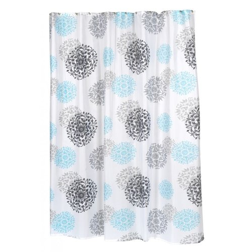 Carnation Isabella Fabric Shower Curtain