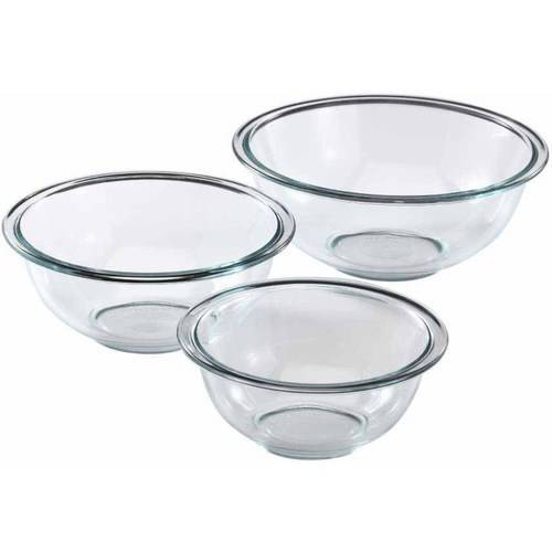 Pyrex Prepware 3-Piece Mixing Bowl Set