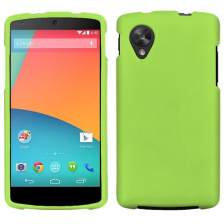 newest 4c4e5 8517c GREEN RUBBERIZED PROTEX HARD CASE PROTECTOR COVER FOR LG/GOOGLE NEXUS 5  PHONE