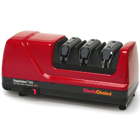 Chefs Choice 120 Edgeselect Professional Red Electric Knife Sharpener