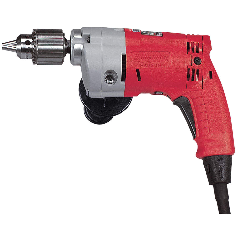 MILWAUKEE Electric Drill, 1/2 In, 0 to 950 rpm, 5.5A 0234-6