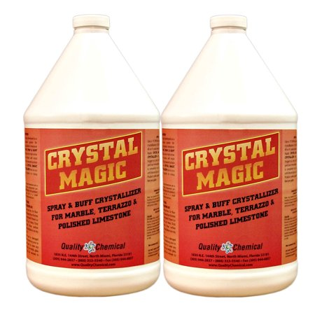 Crystal Magic Marble Polish & Crystallizer - 2 gallon (Best Cleaner For Marble Shower Floors)