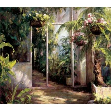 Atriums First Light I Poster Print by  Hali