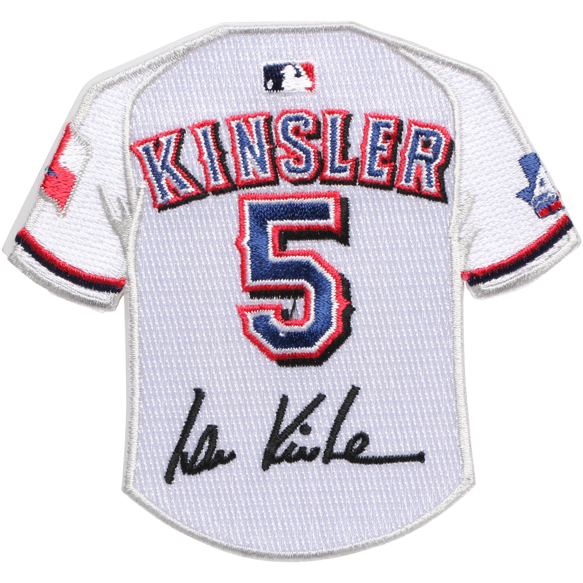 Ian Kinsler Texas Rangers Mini Jersey Patch - No Size
