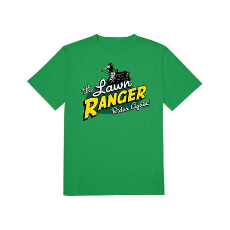 The Lawn Ranger Rides Again T-Shirt, Hi-ho Mower--away Grass