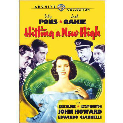 Hitting A New High DVD Movie 1937