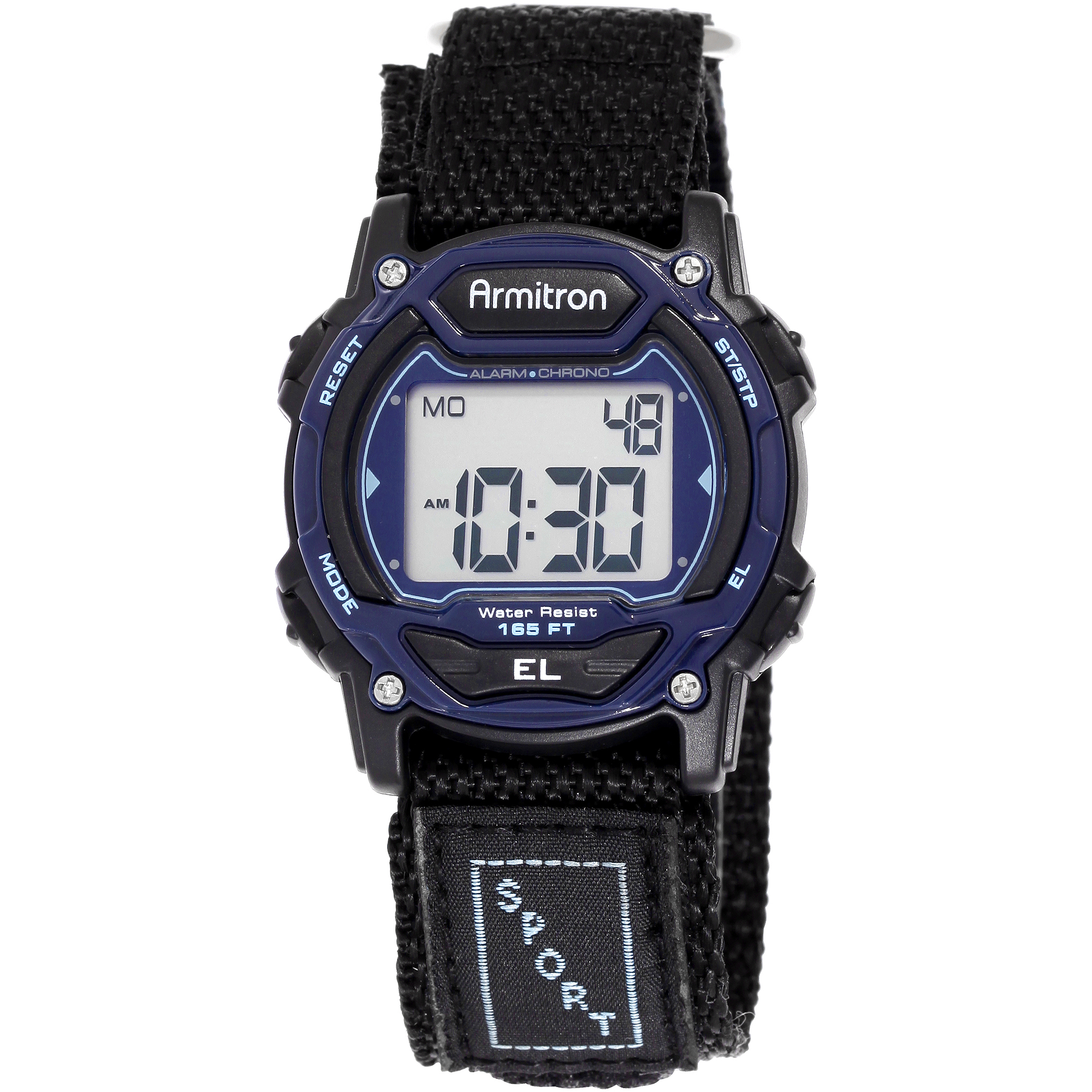 Armitron Unisex Sport Blue Round Watch
