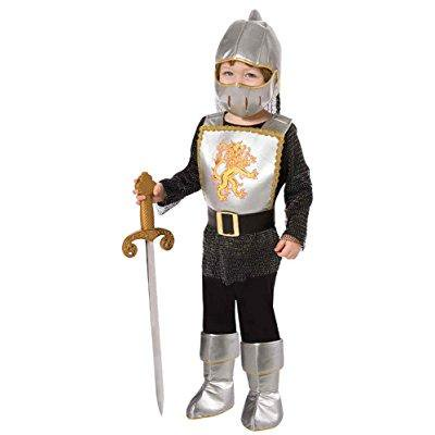 uhc boy's brave knight toddler fancy dress chainmail armour theme child costume, - Chainmail Knight Costume