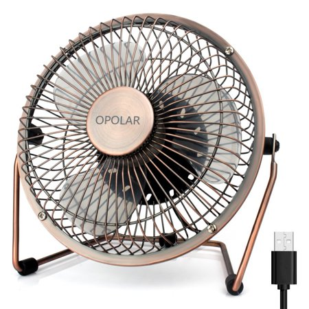 Opolar Desk Fan Upgraded 6 Inch Blades Ultra Quite Usb With Enhanced Airflow
