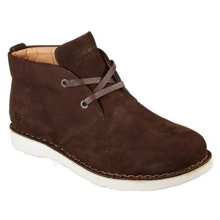 b42fb496747 Skechers Classic Fit Men's Solden Castano Brown Desert Boot Size: 13,  Width: Medium