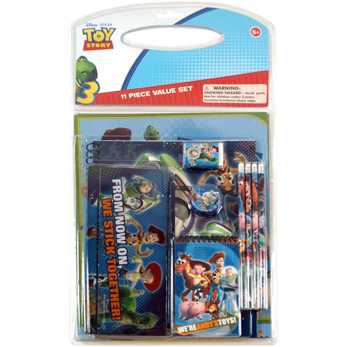 Disney Toy Story 3 11-Piece Value Pack in Bag