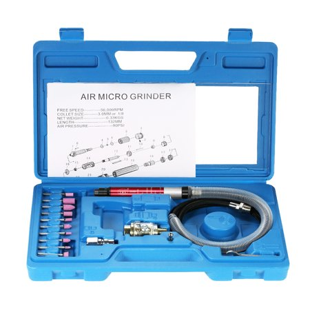 Multi-function Mini Pencil Polishing Rotary Cutting Tool Set Professional Air Micro Die Grinder Kit 16pcs 65000 - Pencil Grinder