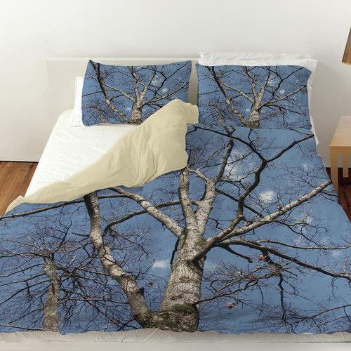 Manual Woodworkers & Weavers Reach for the Sky Duvet Cover
