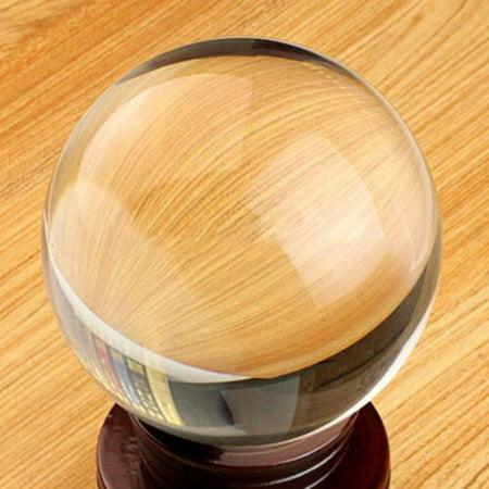 Transparent Crystal Ball Crafts Personalized Custom Decor Colored Light Ball - image 1 de 6