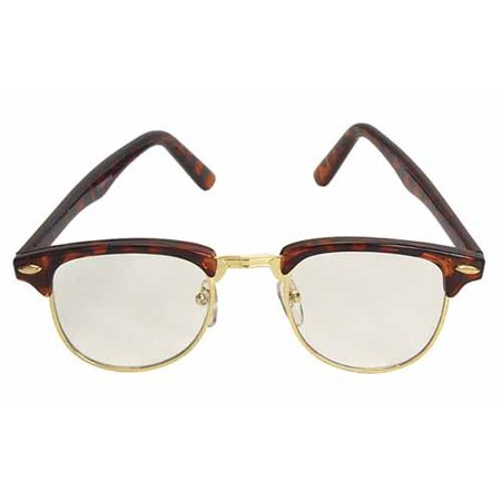 Nerdy Soho Glasses With Tortoise and Gold Frames Malcolm X 50\'s ...
