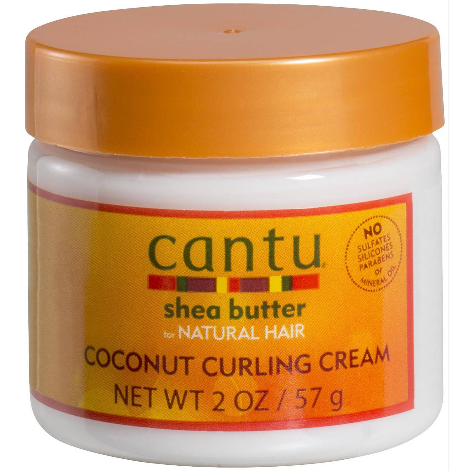 Cantu Shea Butter for Natural Hair Coconut Curling Cream, 2 oz