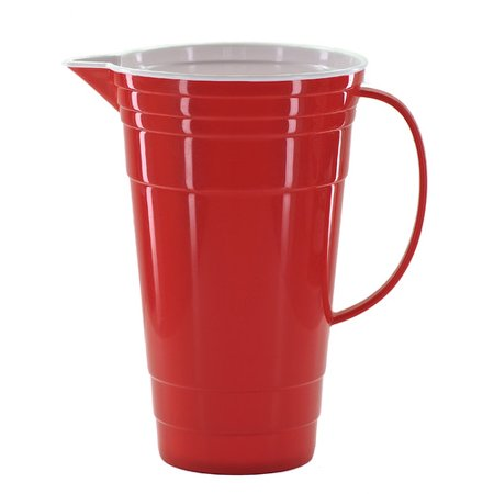 Pro Ice Pitchers Kit - Mr Ice Bucket Red Party Pitcher