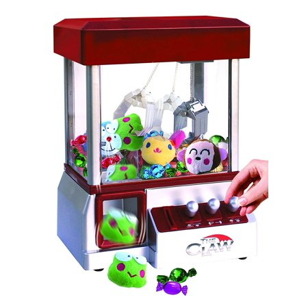 Animal Claws - Etna The Claw Toy Grabber Machine with Sounds and Animal Plush - Features Electronic Claw Toy Grabber Machine, Animation, 4 Animal Plush & Authentic Arcade Sounds for Exciting Play