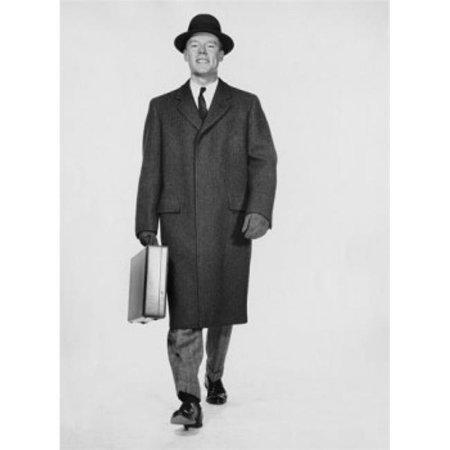 Posterazzi SAL25548160 Studio Portrait of Businessman Carrying Briefcase Poster Print - 18 x 24 in. - image 1 de 1
