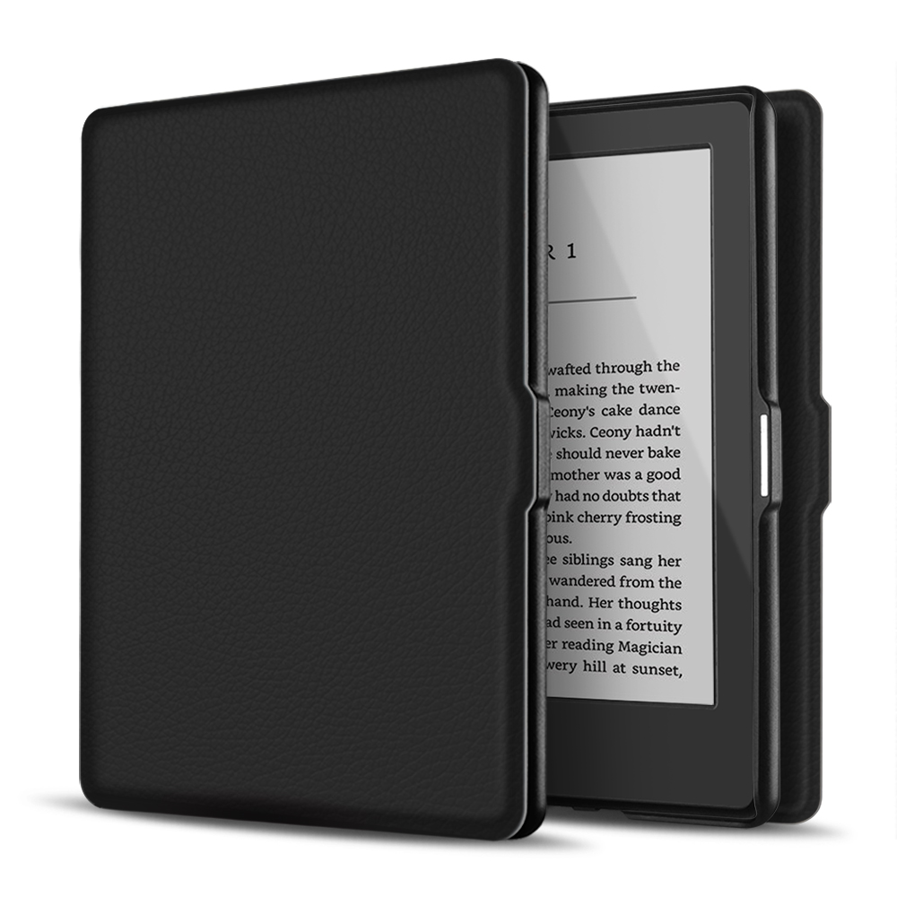 "Case for Kindle 8th Generation - Slim & Light Smart Cover Case with Auto Sleep & Wake for Amazon Kindle E-reader 6"" Display, 8th Generation 2016 Release (Black)"