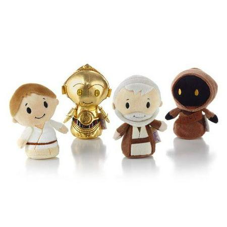 Itty Bitty Snowflakes - Hallmark Ornament 2016 Star Wars New Hope Itty Bitty Collectors Set