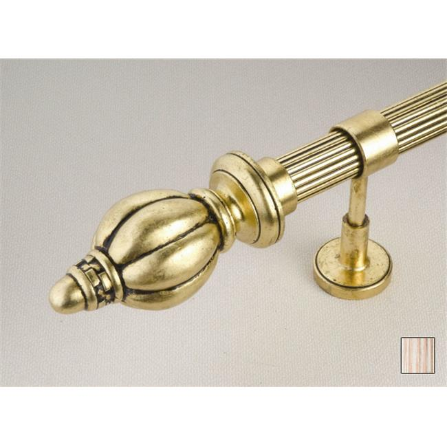 WinarT USA 8. 1076. 45. 11. 320 Palas 1076 Curtain Rod Set - 1. 75 inch - Flash Copper - 126 inch
