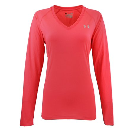 bb8b7311 Under Armour Women's UA Tech L/S Semi-Fitted V-Neck Tee