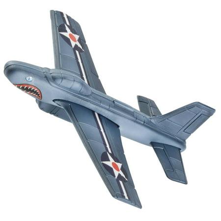 Aeromax Aerobatic Foam Flyer Shark Bite Edition Airplane, Grey/Silver (Park Flyer Airplane 4 Channel)