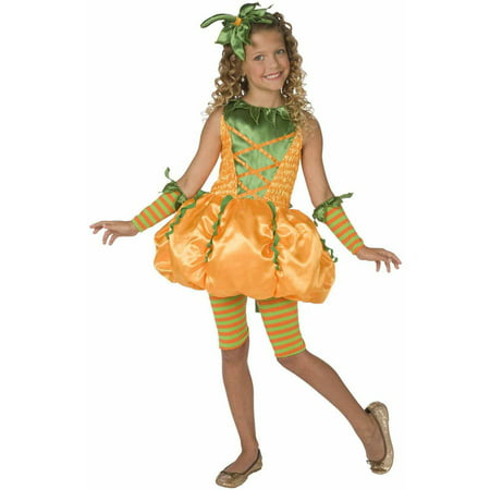 Precious Pumpkin Girls' Child Halloween - Hollow Out A Pumpkin For Halloween