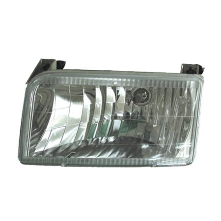 Go-Parts OE Replacement for 1992 - 1996 Ford F-150 Headlight - (Custom 5.0L, 5.8L, 4.9L Standard Cab Pickup + Custom 3.8L Standard Cab Pickup + Custom 5. Performance FO2505102 Replacement For Ford Pickup Performance Chips