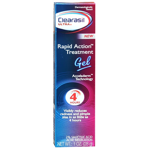 Clearasil Ultra Rapid Action Treatment Gel - 1 Oz, 2 Pack